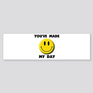 HAPPY DAY Bumper Sticker