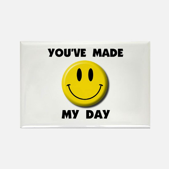HAPPY DAY Rectangle Magnet