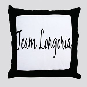 Team Longoria Throw Pillow