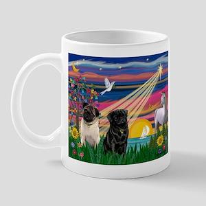 Pug Magical Night Mug