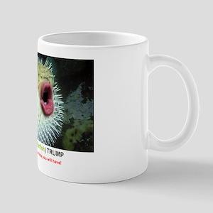 DONAL (PUFFERFISH) TRUMP Mugs