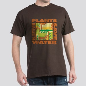 Native Plant Landscaping Dark T-Shirt