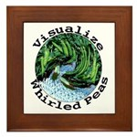 Visualize Whirled Peas Framed Tile