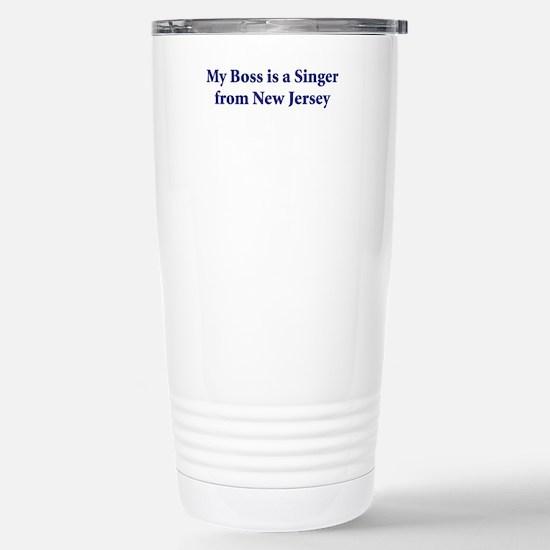 Bruce Springsteen Stainless Steel Travel Mug