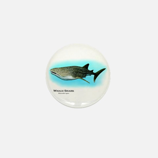 Whale Shark Mini Button
