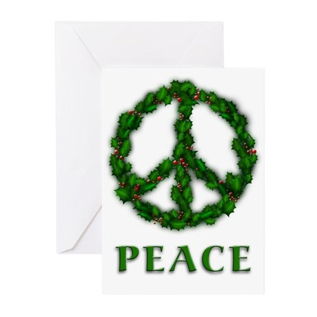 Peace Anti-War Christmas Cards (10 w/envelopes)
