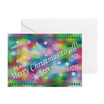 Merry Christmas to ALL Greeting Cards (Pkg. of 10)