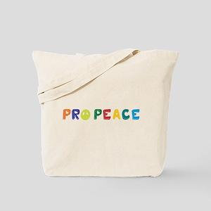 Pro Peace Tote Bag