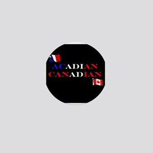Acadian Canadian Mini Button