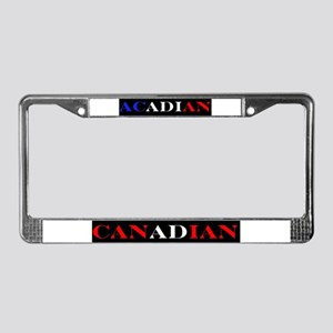 Acadian Canadian License Plate Frame