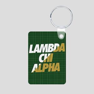 Lambda Chi Alpha Athletic Aluminum Photo Keychain