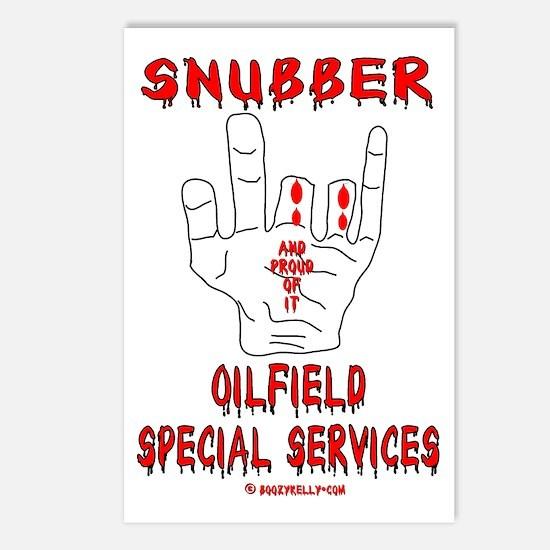 Snubber Postcards (Package of 8),Oil,Oil Rig
