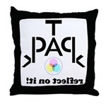 TPACK: Reflect on It Throw Pillow
