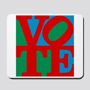VOTE (3-color) Mousepad