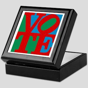 VOTE (3-color) Keepsake Box