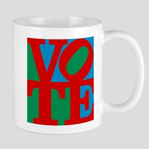 VOTE (3-color) Mug