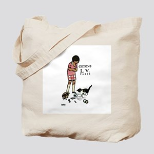 french thread ad Tote Bag