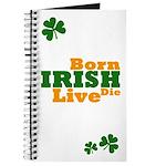 Irish Born Live Die Journal