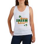 Irish Born Live Die Women's Tank Top
