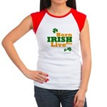 Irish Born Live Die Women's Cap Sleeve T-Shirt