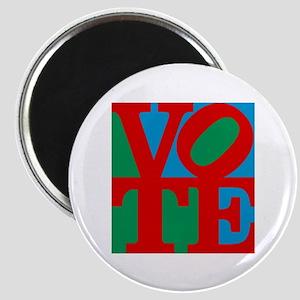 VOTE (3-color) Magnet