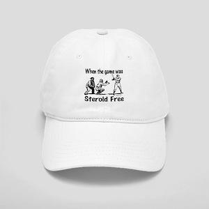 Steroid free baseball Cap