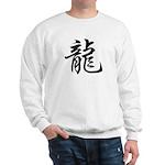 Dragon Calligraphy Sweatshirt