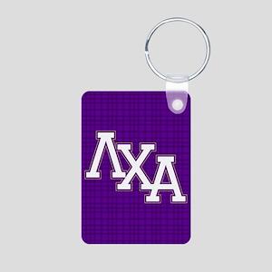 Lambda Chi Alpha Letters P Aluminum Photo Keychain