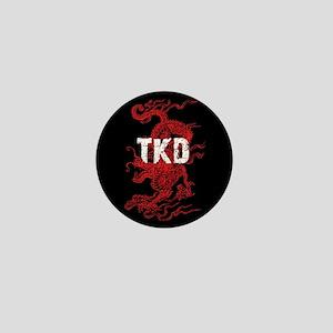 Tkd Dragon Mini Button