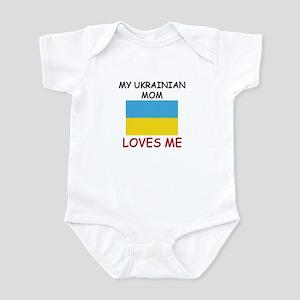 My Ukrainian Mom Loves Me Infant Bodysuit