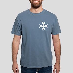 White Maltese Cross T-Shirt