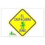 Large Chupacabra Poster