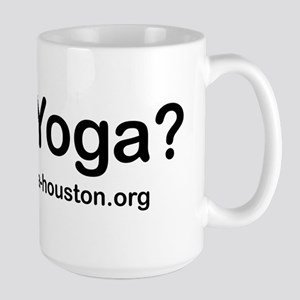 Free Day of Yoga 2009 Large Mug