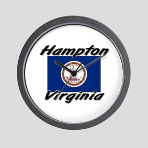 Hampton virginia Wall Clock