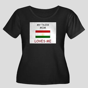 My Tajik Mom Loves Me Women's Plus Size Scoop Neck