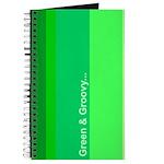 Green & Groovy Journal