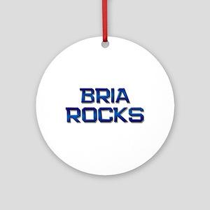 bria rocks Ornament (Round)