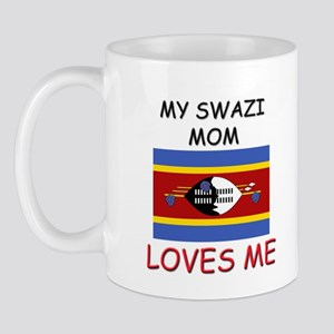 My Swazi Mom Loves Me Mug