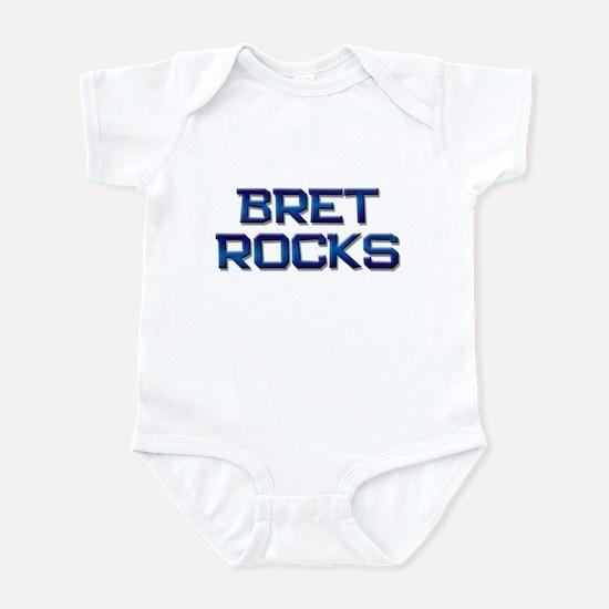 bret rocks Infant Bodysuit