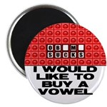 """I would like to buy a vowel 2.25"""" Magnet (100"""