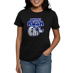 I Want Rush to Fail Women's Dark T-Shirt