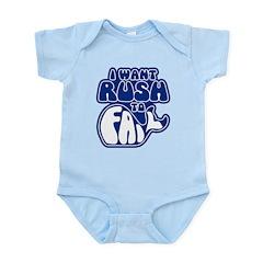 I Want Rush to Fail Infant Bodysuit