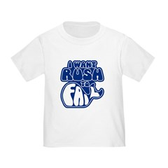 I Want Rush to Fail Toddler T-Shirt