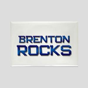 brenton rocks Rectangle Magnet