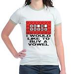 I would like to buy a vowel Jr. Ringer T-Shirt