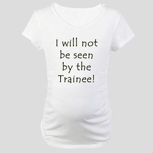 CL!CC Bad Taste Police Maternity T-Shirt