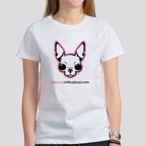 famous chihuahua clothes women's t-shirt
