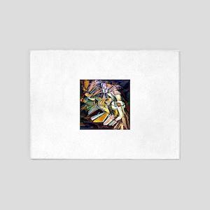 Marcel Duchamp Nude Descending a Staircase 5'x7'Ar