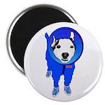 Space Dog Meiklo Magnets