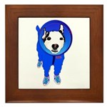Space Dog Meiklo Framed Tile
